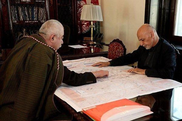 حذف دوستم از تیم اشرف غنی در انتخابات ریاست جمهوری افغانستان