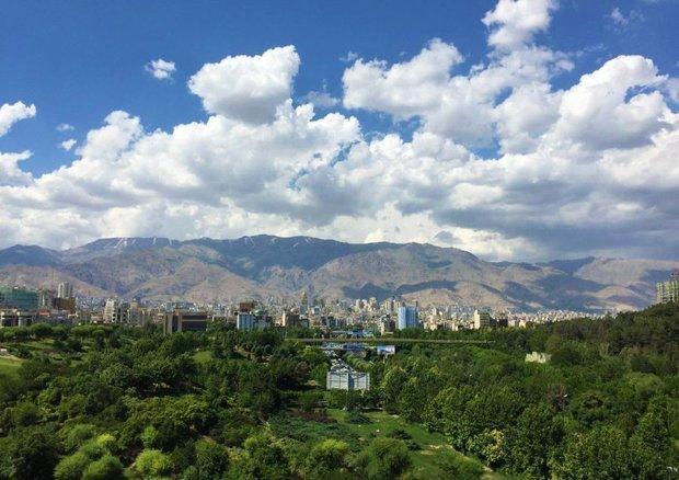 هوای تهران با شاخص 61 سالم است