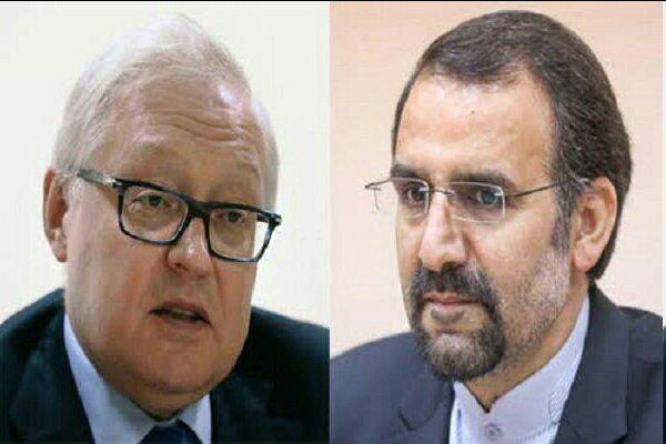 بررسی آخرین وضعیت تحولات منطقه ای و بین المللی در دیدار سفیر ایران با معاون وزیر خارجه روسیه