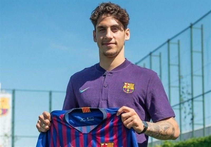 بارسلونا اسپانیا یک هافبک هلندی خرید