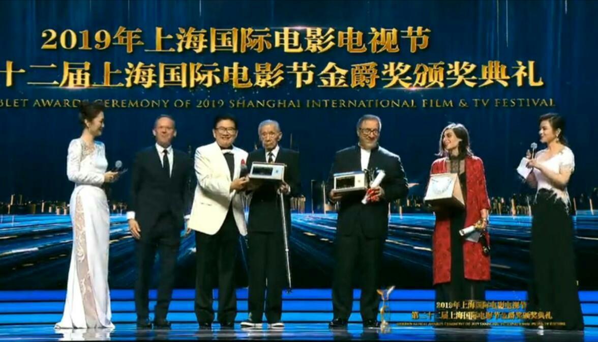 حامد بهداد بهترین بازیگر مرد جشنواره فیلم شانگهای چین شد