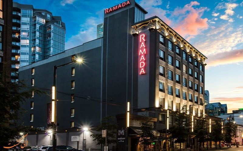 معرفی هتل رامادا ونکوور ، 3 ستاره