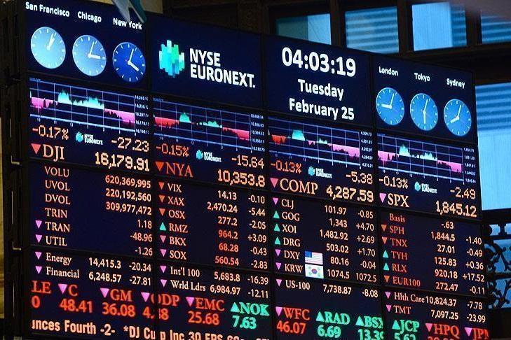 روند نزولی شاخص های سهام در بورس اروپا در روز دوشنبه