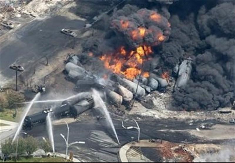 تلفات انفجار قطار در کانادا به 5 کشته رسید