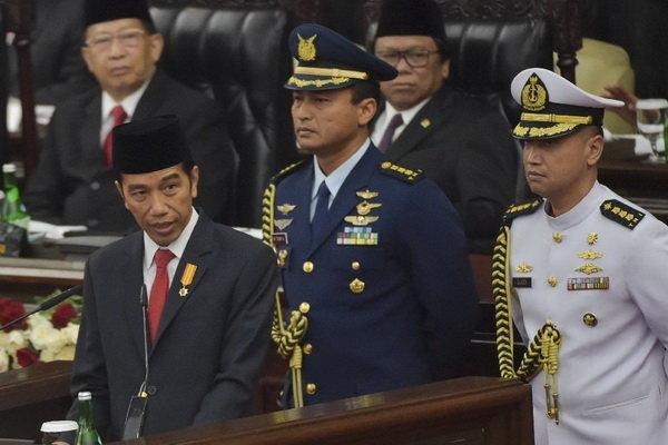 رئیس جمهور اندونزی: از هر ذره خاک کشورمان دفاع می کنیم