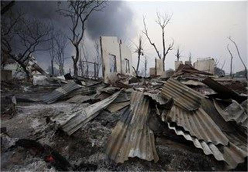 درگیری مسلمانان و بودایی های میانمار به اندونزی نیز کشیده شد