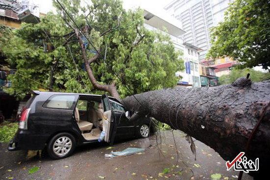 افزایش تلفات طوفان در ویتنام به 49 نفر