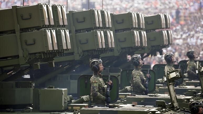 قدرت نمایی چین در رژه نظامی هفتادمین سالگرد حکومت کمونیستی