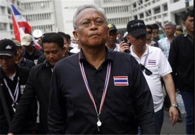 حکم بازداشت رهبر مخالفان تایلند صادر شد