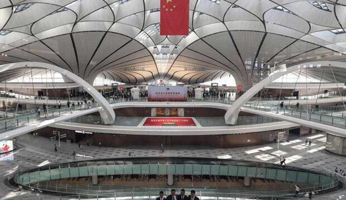 ابرفرودگاه 63 میلیارد دلاری پکن به روی پروازهای بین المللی باز شد