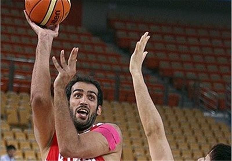 حدادی موثرترین و پرامتیازترین بازیکن ایران مقابل چین تایپه