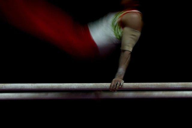 مدال برنز تیم های ملی آکروباتیک ژیمناستیک در مسابقات قهرمانی آسیا