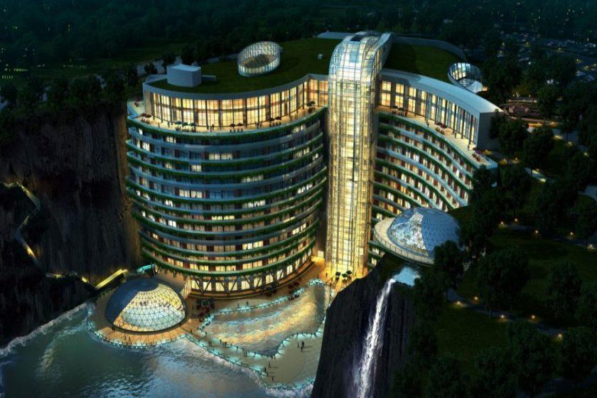 هتل زیر آبی شانگهای واندرلند؛ هتلی با طرحی نامتعارف