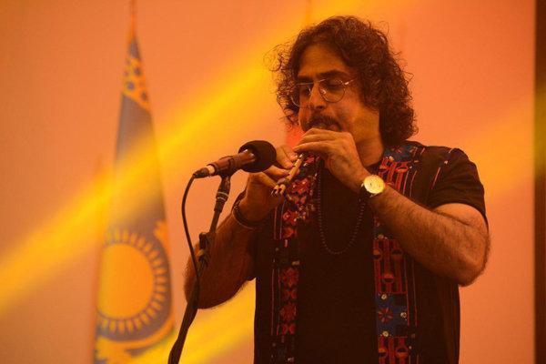 لیان به رویداد هنری طهران رفت، معرفی بوشهر در تهران
