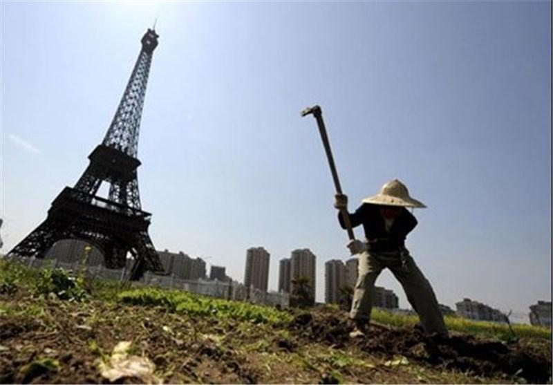 چین بناهای تاریخی را کپی کرد!