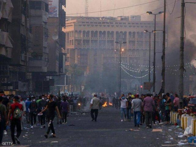 اعتراضات بغداد همچنان ادامه دارد
