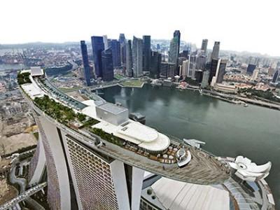 Marina Bay Sands ، گران ترین پروژه ساختمانی در قرن 21