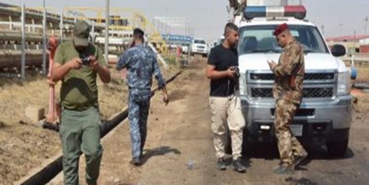 المیادین: حمله داعش به چاه نفتی استان کرکوک عراق دفع شد