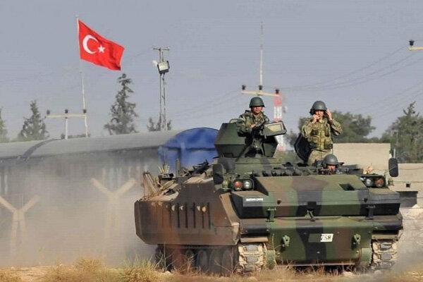 ارسال تجهیزات نظامی گسترده از سوی ترکیه به خاک سوریه