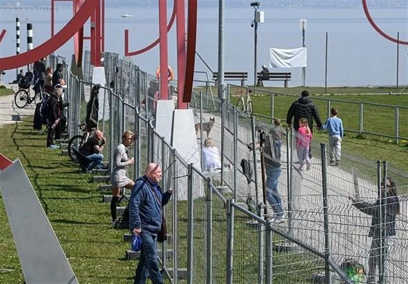 نصب حصار مرزی بین آلمان و سوئیس برای مقابله با شیوع کرونا