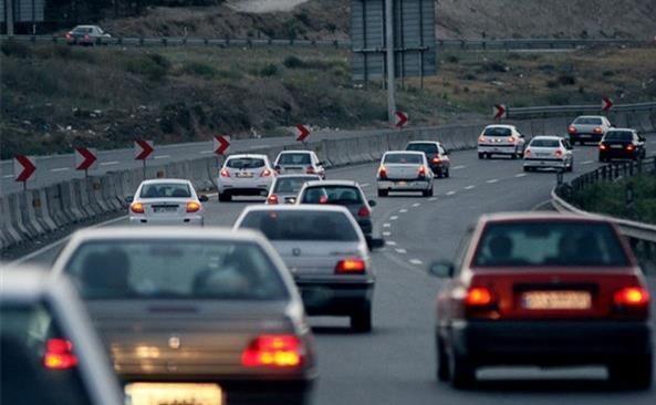 آخرین شرایط ترافیکی جاده های کشور، پنج شنبه هفتم فروردین