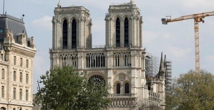 امیدواری مسئولان فرانسوی به بازگشایی نوتردام در تاریخ مقرر