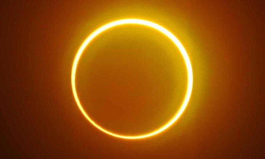 حلقه آتش: کسوف حلقه ای نادر اول تابستان در نیمکره شمالی
