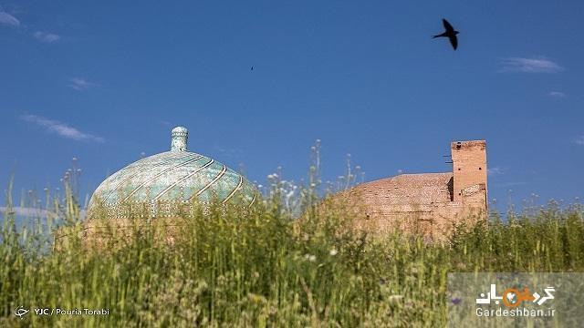 مسجدی با سبک های معماری چند دوره تاریخی