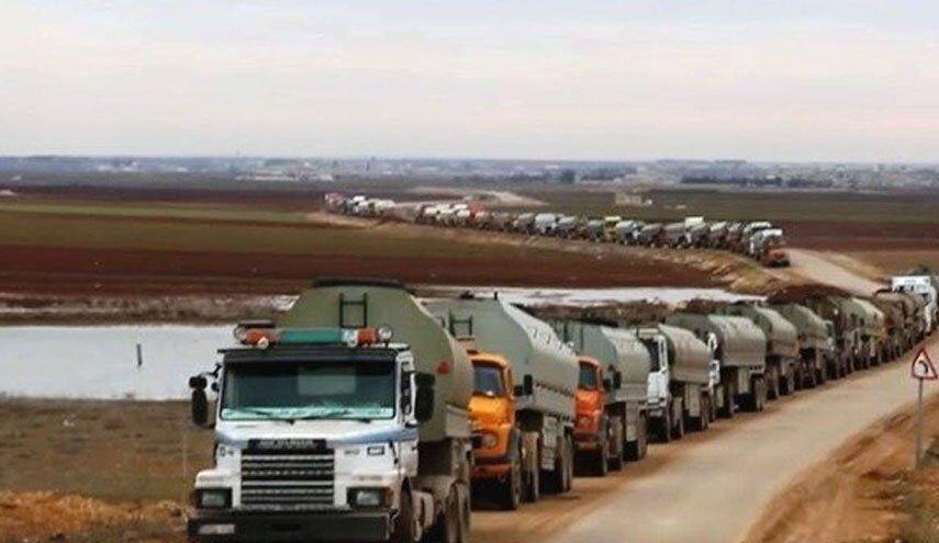 قاچاق نفت سوریه به عراق توسط امریکا همچنان ادامه دارد