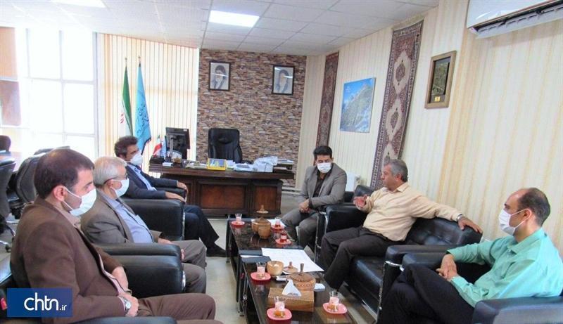 ملاقات رؤسای اتاق بازرگانی با مدیرکل میراث فرهنگی، گردشگری و صنایع دستی کردستان