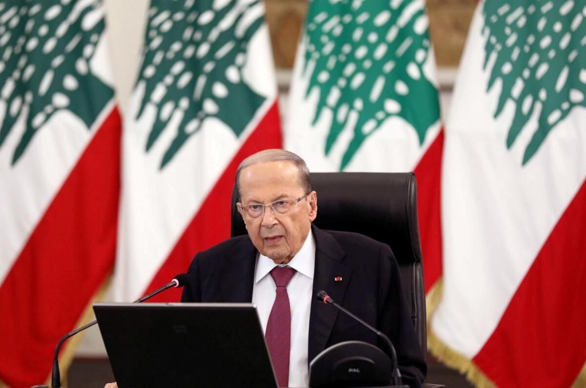 میشل عون ادعاها علیه حزب الله درخصوص انفجار بیروت را رد کرد