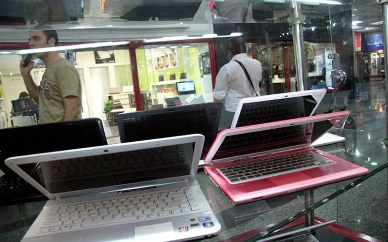 واردات لپ تاپ دست دوم از عراق و امارات