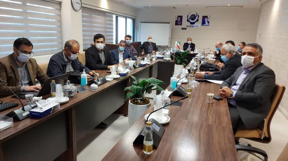 یکصد و سی و هشتمین جلسه فراوری شرکت میدکو برگزار گردید