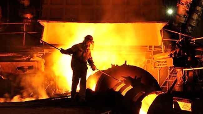 رشد 10 درصدی فراوری آهن اسفنجی