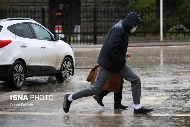 هشدار هواشناسی نسبت به وقوع رگبار و رعد و برق در 10 استان کشور