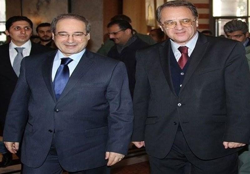سوریه، رایزنی المقداد و نماینده ویژه پوتین در امور خاورمیانه و شمال آفریقا
