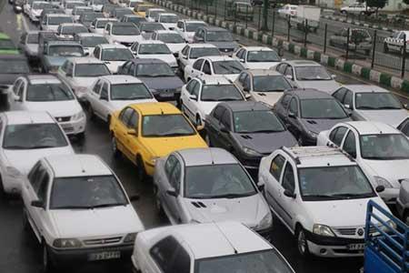 بارش برف و باران در جاده های 5 استان ، ترافیک جاده ها افزایش یافت