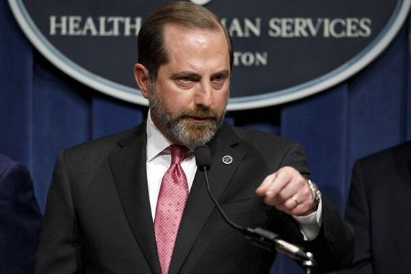 وزیر بهداشت آمریکا هم استعفا کرد