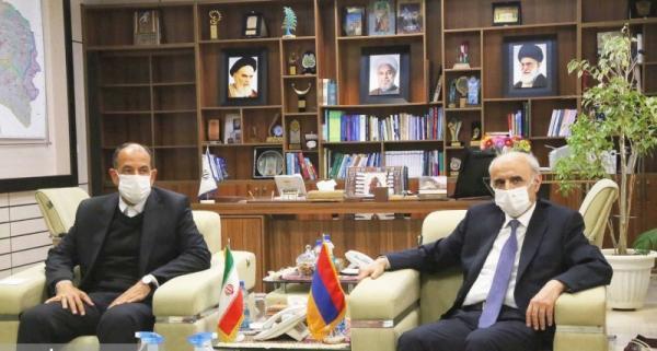 گسترش روابط همه جانبه در تمامی حوزه ها بین خراسان شمالی و جمهوری ارمنستان
