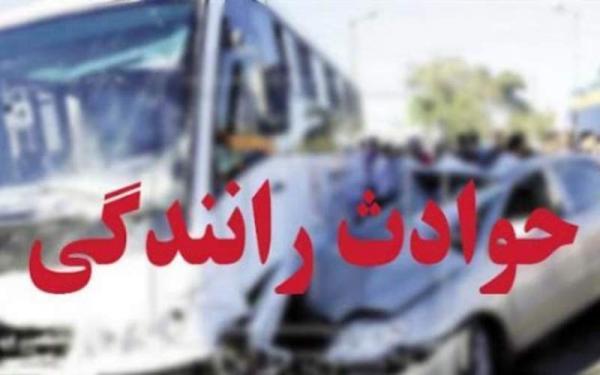 3 فوتی و 60 مصدوم در تصادف اتوبان زنجان-قزوین