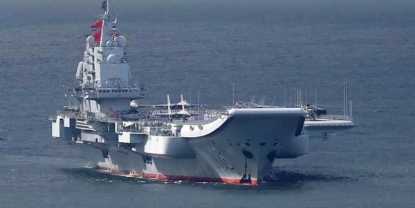 نمایش قدرت چین به آمریکا با حرکت ناو گروه لیائونینگ به اقیانوس آرام