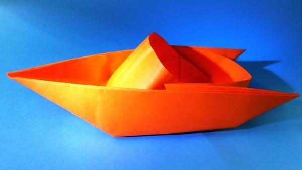 ساخت اوریگامی قایق به 4 روش (فیلم