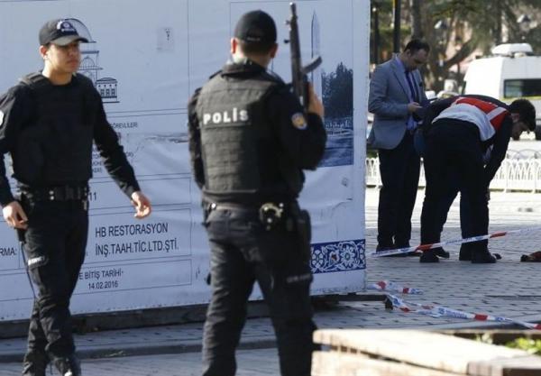 خنثی شدن یک عملیات تروریستی در استانبول