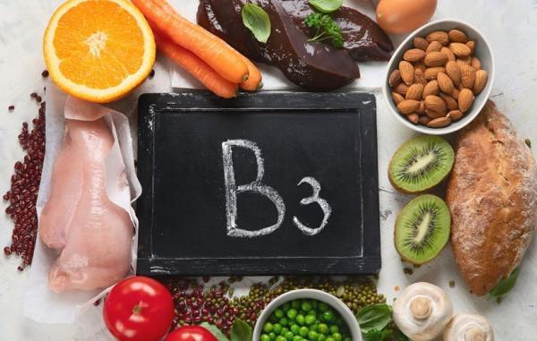 ویتامین b3 (نیاسین)؛ فواید، علائم کمبود، منابع غذایی سرشار و عوارض جانبی