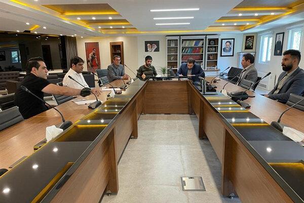 جلسه مسئولان سازمان لیگ با رئیس فدراسیون کشتی برگزار شد