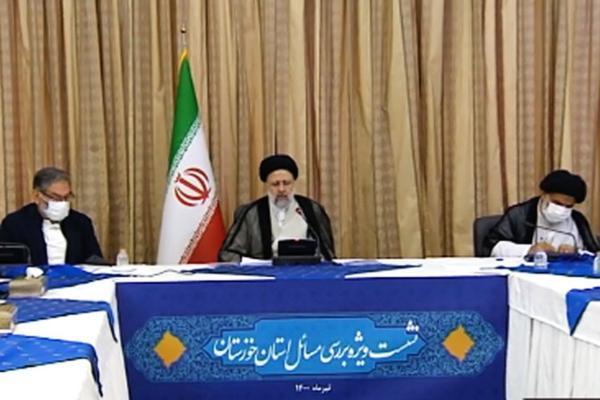 جزییات جلسه ویژه رئیسی درباره خوزستان