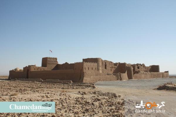 قلعه سریزد؛ قدیمی ترین صندوق امانات بانکی تاریخ ، تصاویر قلعه 1400 ساله خشت و گلی