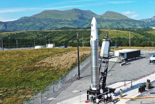 پرتاب راکت شرکت فضایی خصوصی آمریکایی باخت