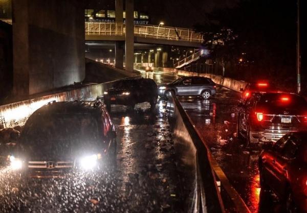 طوفان و سیل در نیویورک 7 کشته برجای گذاشت
