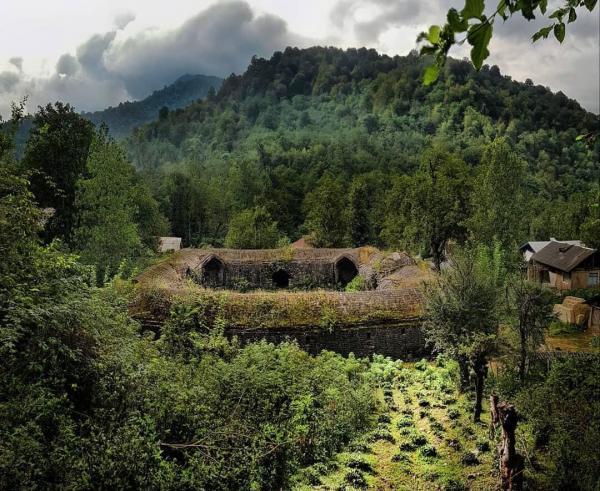 کاروانسرای عمه تی تی در دل جنگل های سیاهکل؛ اینجا هم فال است هم تماشا!